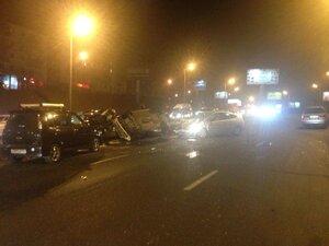 Во Владивостоке Toyota вылетела на встречку: город параллизован