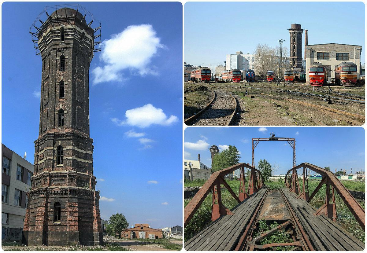 Водонапорная башня варшавского депо