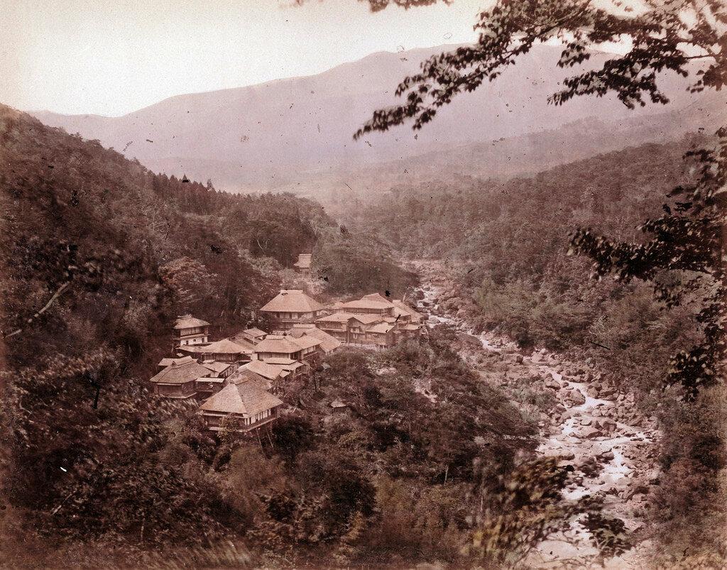 Кига возле Мияношиты. 1883