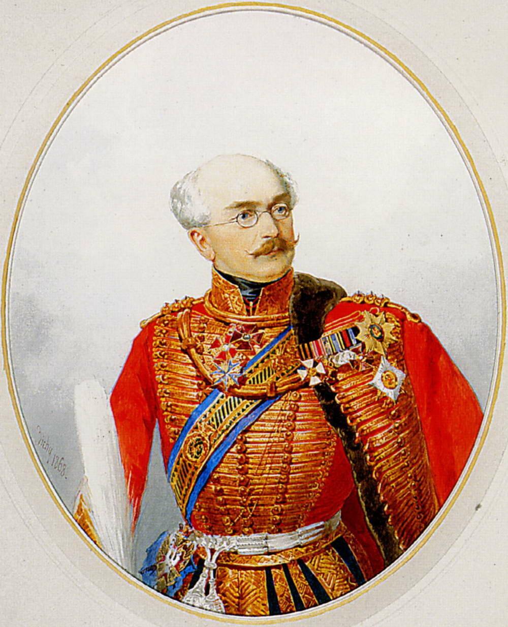 Портрет генерала барона А.Е.Энгельгардта.