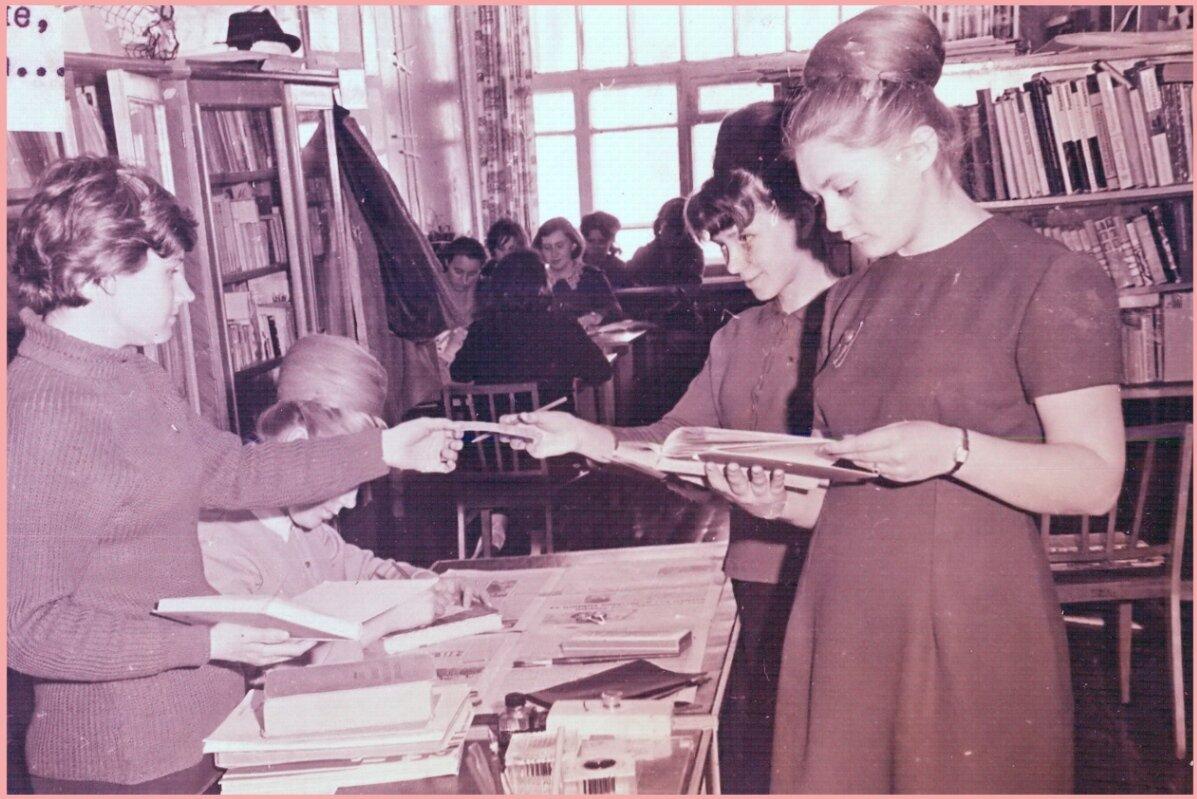 1970-е. В кабинете иностранных языков
