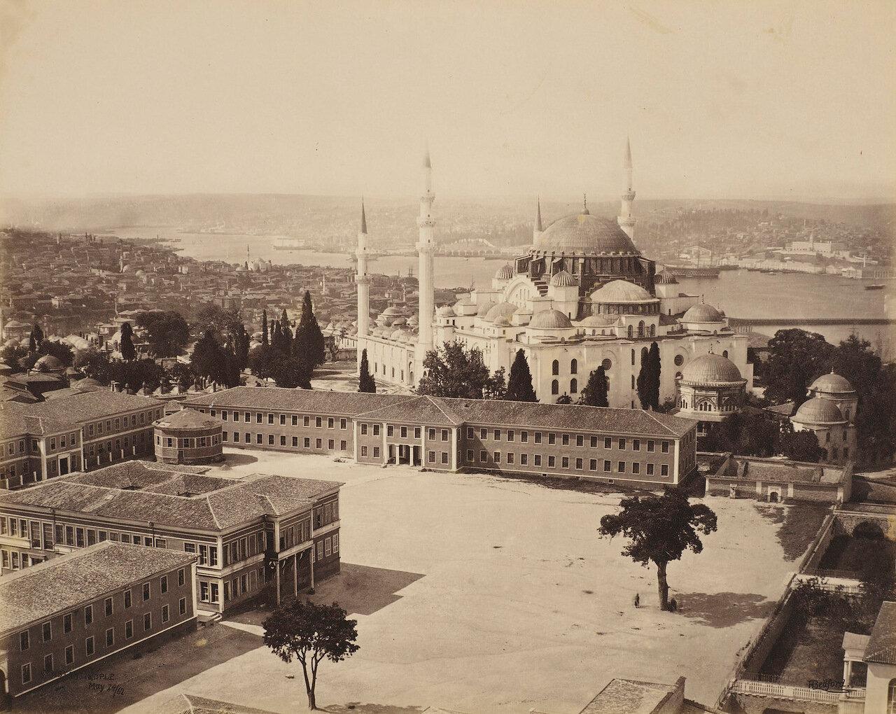 24 мая 1862. Вид с Мечеть Сулеймана