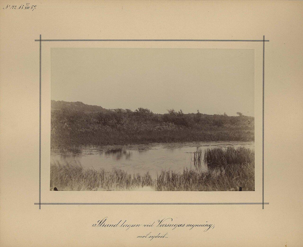 27.8.1889. Берег реки Варзугана недалеко от устья
