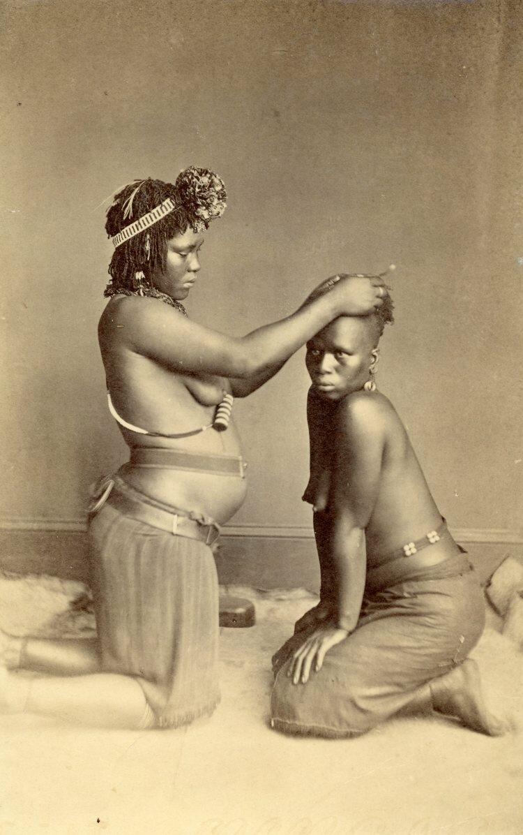 Зулуски. Южная Африка, конец XIX века