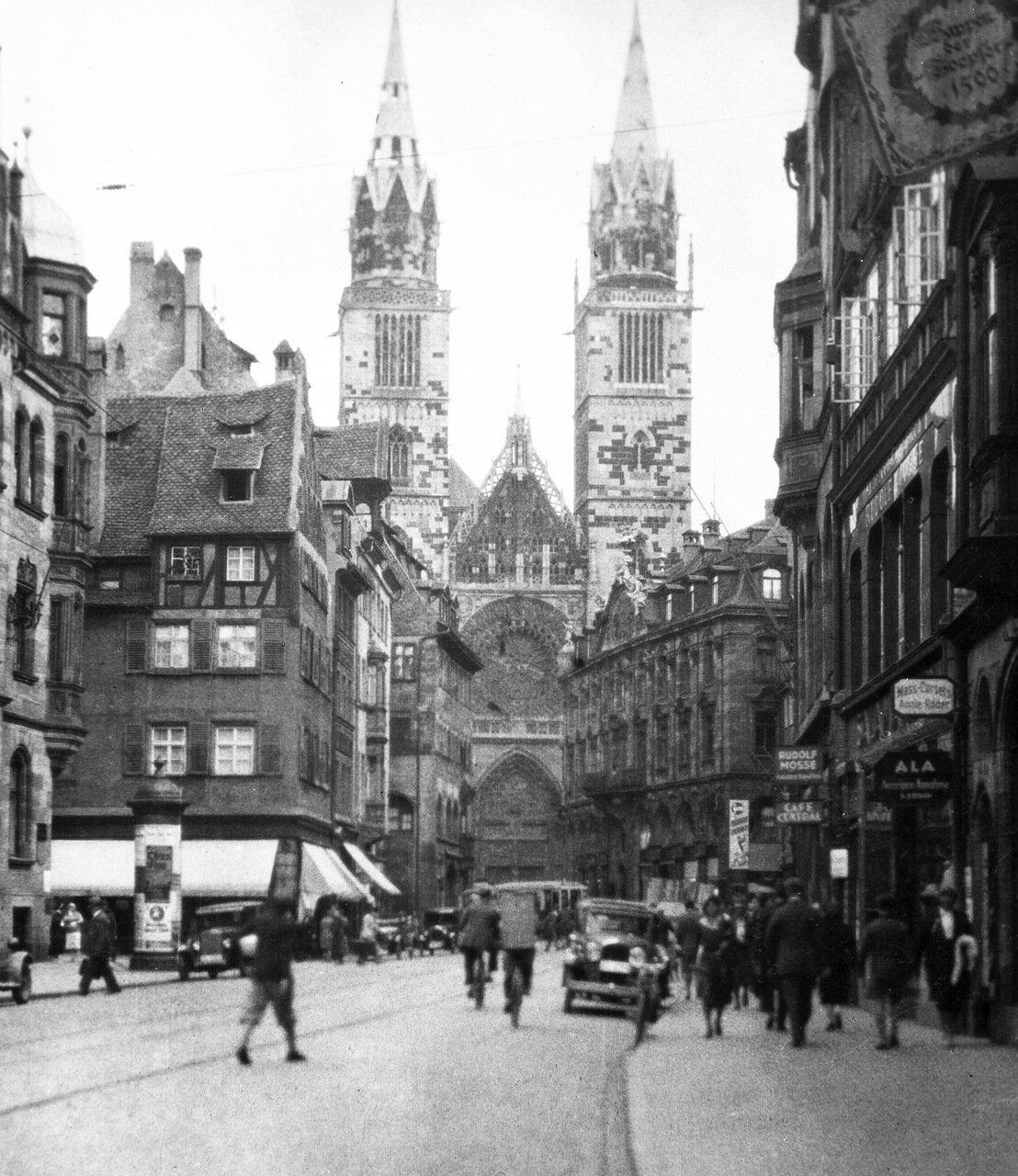 1931. Нюрнберг, Кафедральный собор Святого Лаврентия