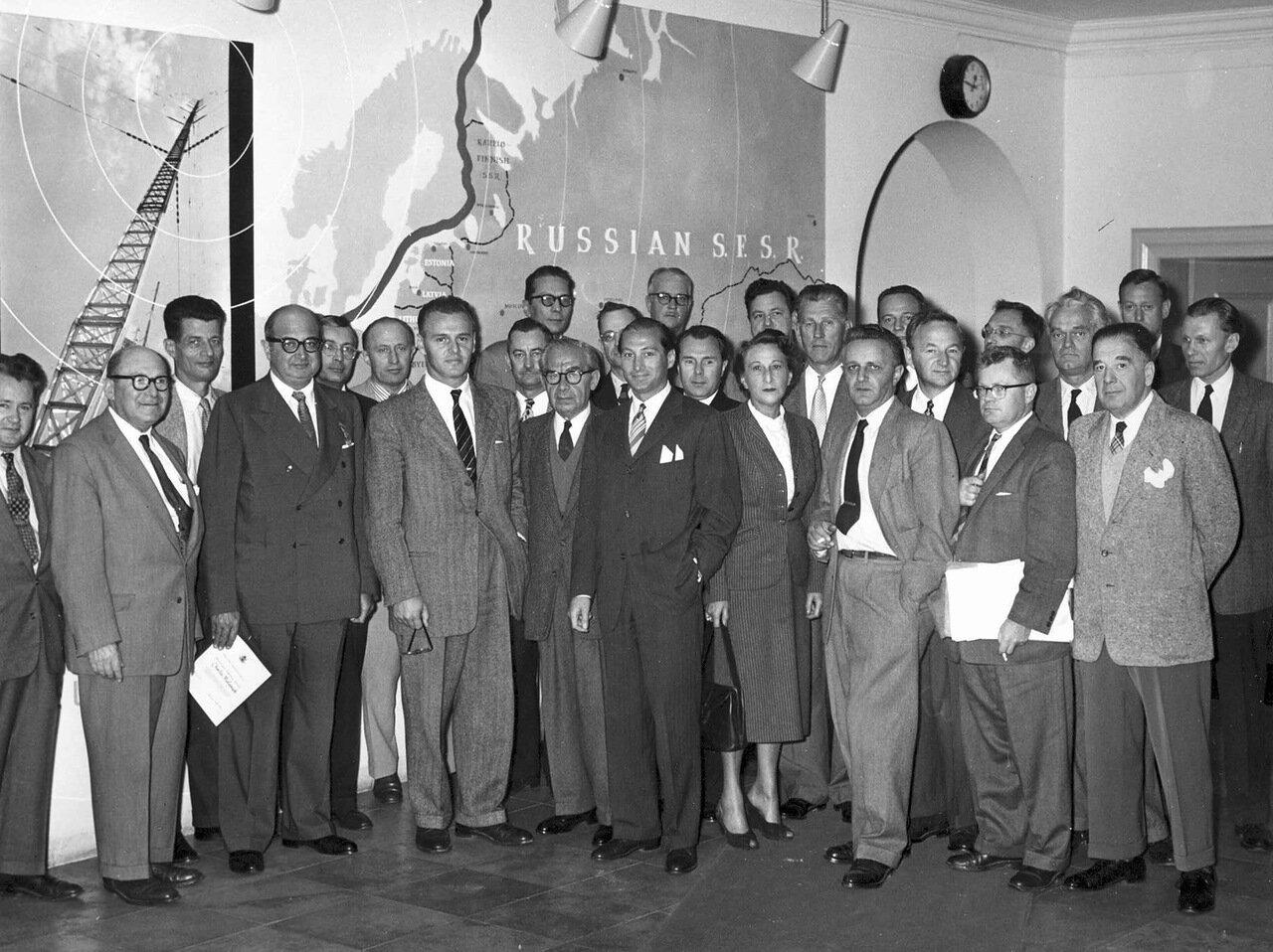 1955. Мюнхен, штаб-квартира Радио Свободная Европа
