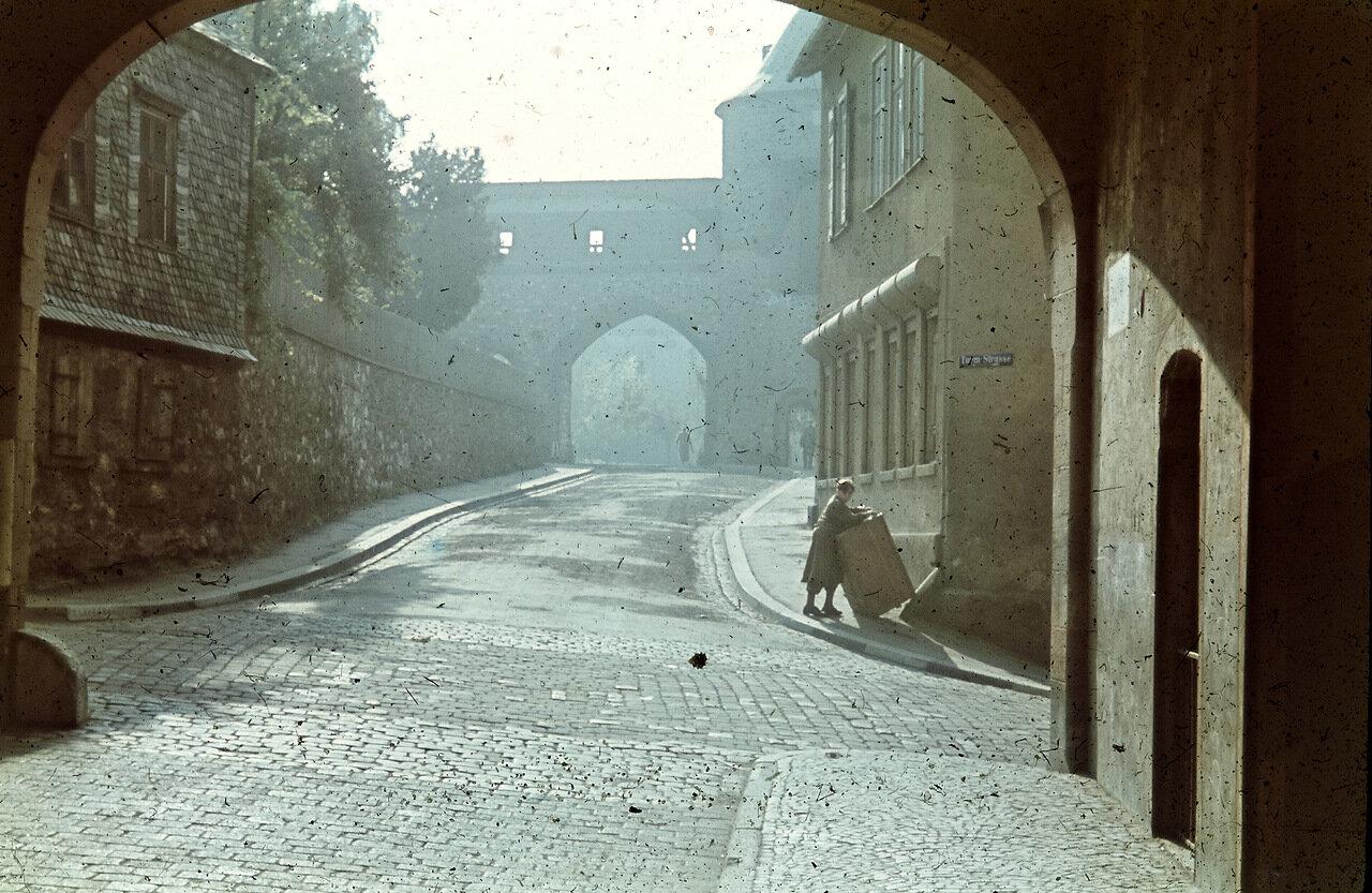 Турмштрассе, Башня Портного и часть городской стены