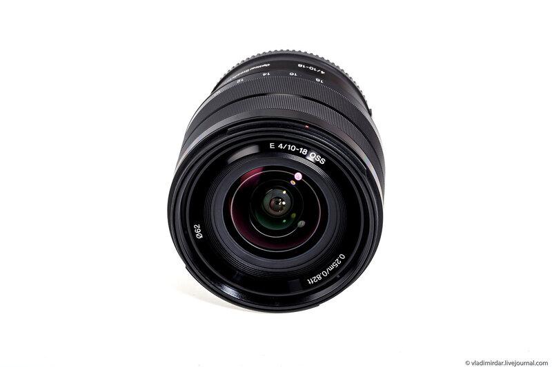Широкоугольный объектив Sony SEL-1018 10-18 mm F/4 OSS