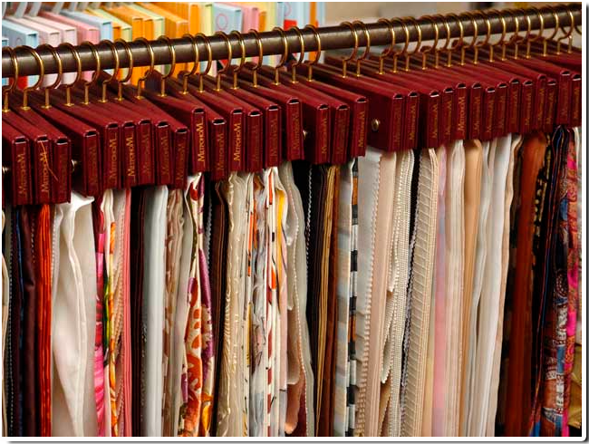 Как рассчитать расход ткани для штор