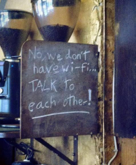 Разговаривайте друг с другом
