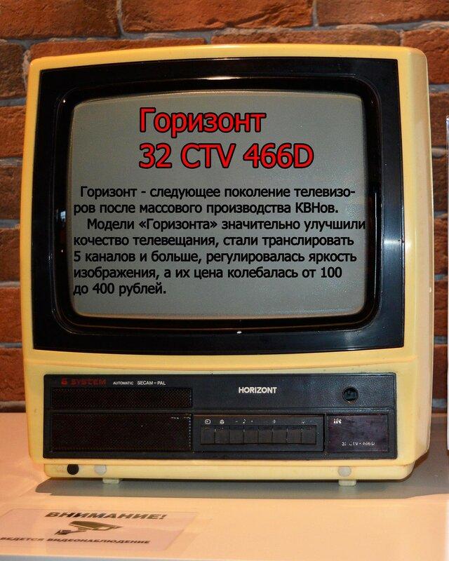Выставка раритетных телевизоров