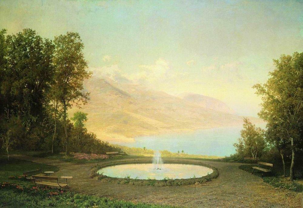 Эриклик. Фонтан (Крым). 1872.jpg