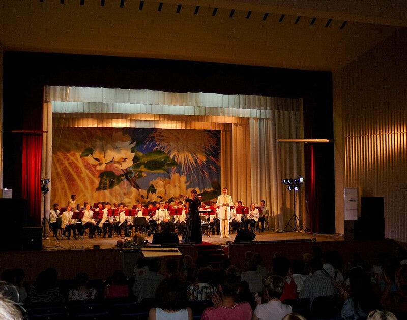 Выступление Государственного концертного оркестра В.Еждика