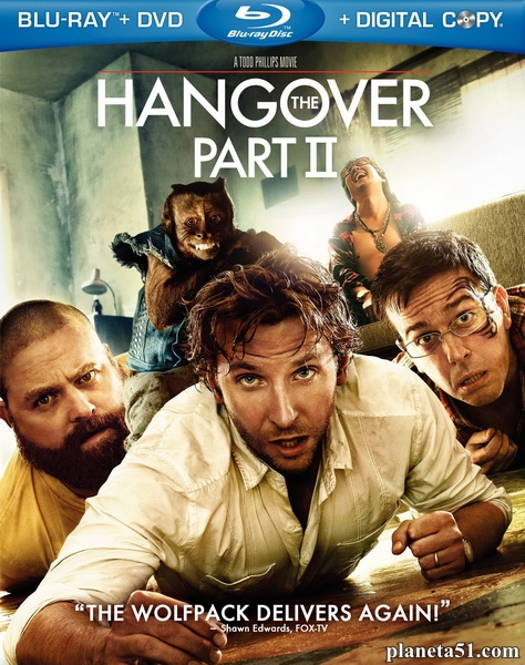 Мальчишник 2: Из Вегаса в Бангкок / The Hangover Part II (2011/HDRip)