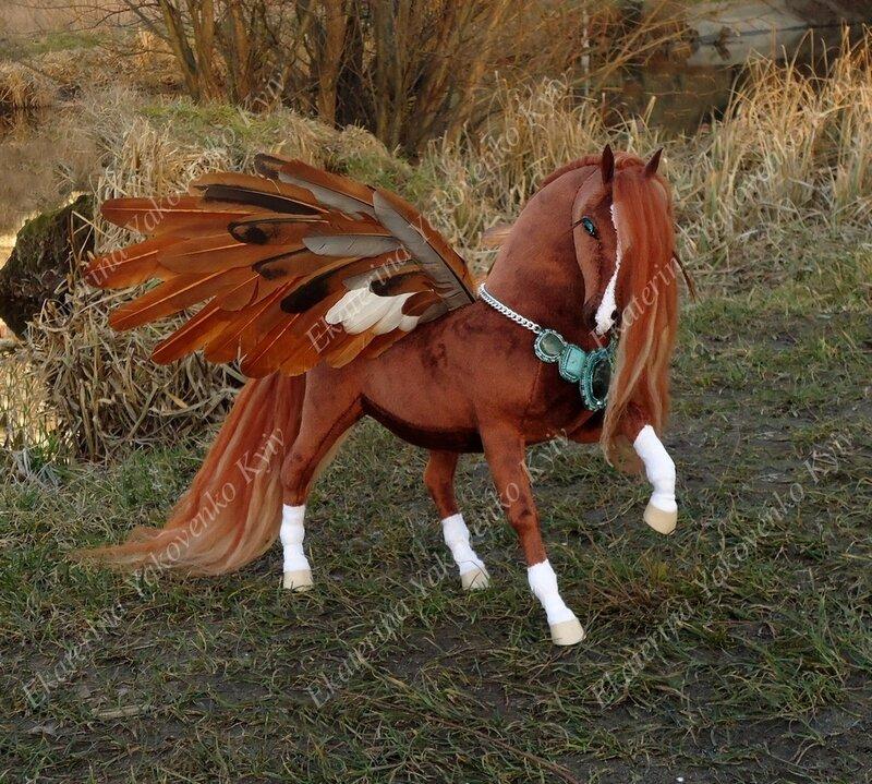 Как сделать из лошади пегаса