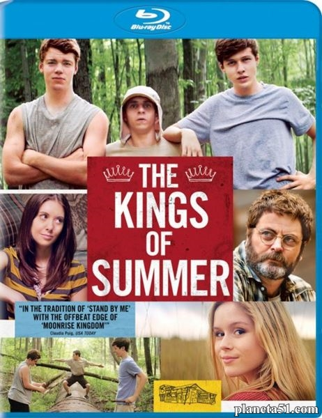 Короли лета / The Kings of Summer (2013/HDRip)