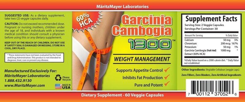 Garcinia Cambogia 1300