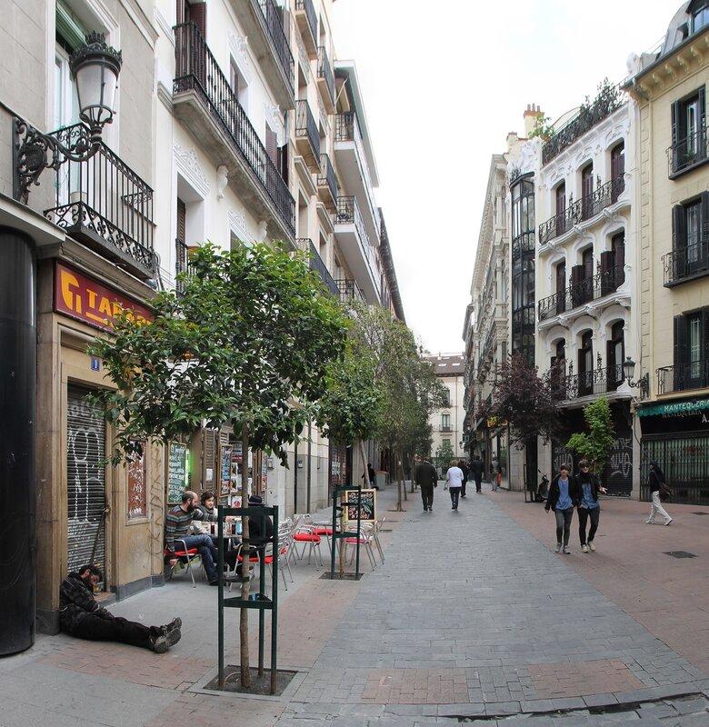 Мадрид. Площадь Матуте (Plaza de Matute)