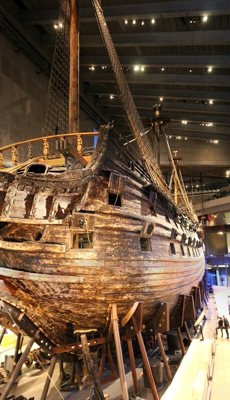 Stockholm, the Museum of the Vasa ship