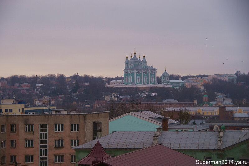 Смоленск - вид на Успенский собор