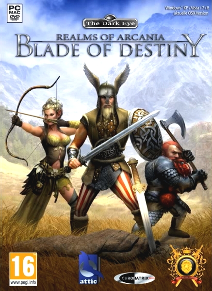 Realms of Arkania: Blade of Destiny HD (2013/ENG/RePack)