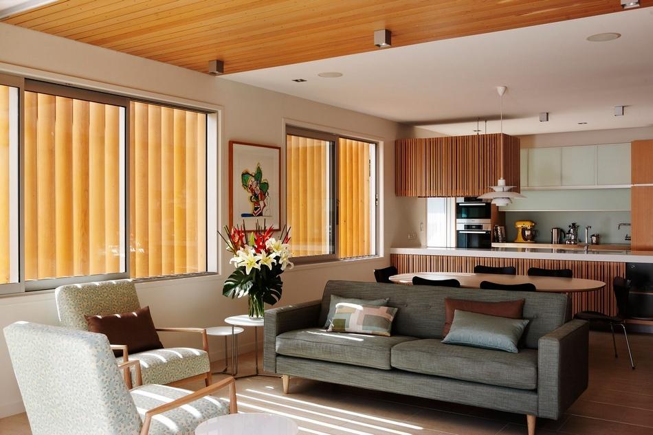 Дом для пожилой пары в спальном районе Окленда