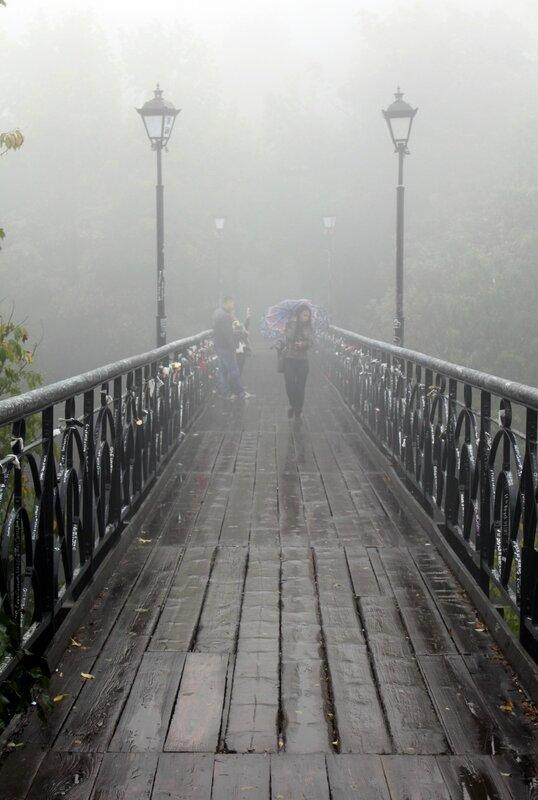 Парковый мостик