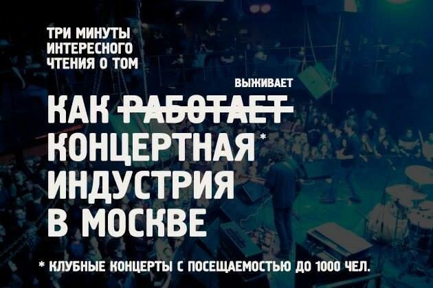 Как выживает концертная индустрия в Москве