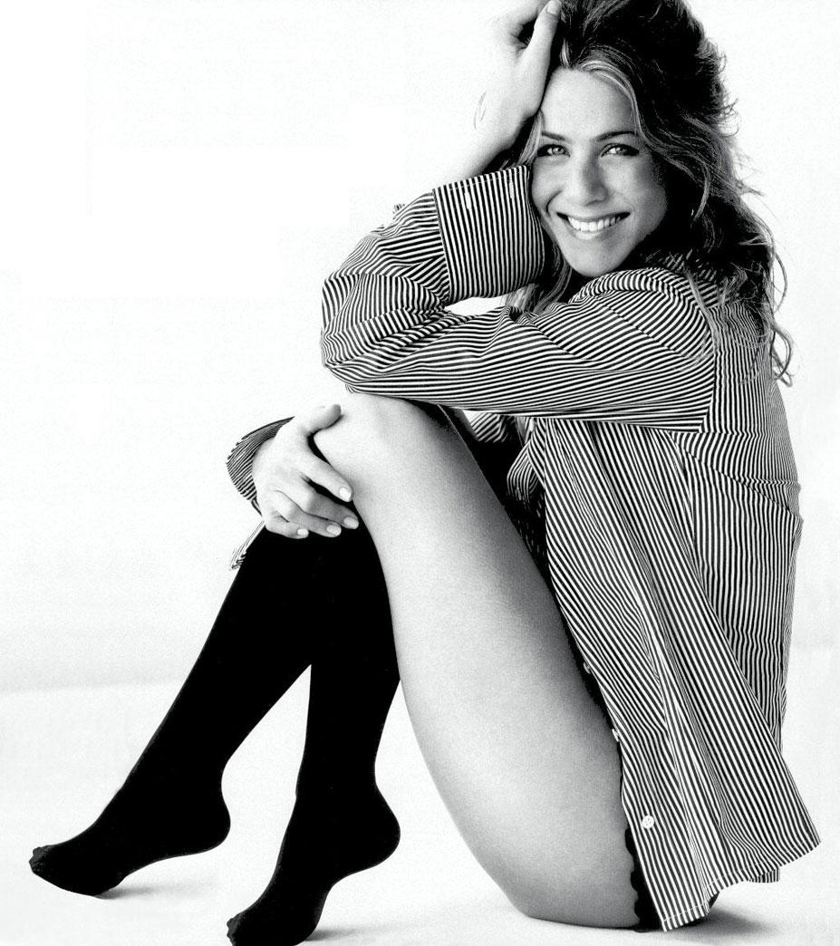 модель Дженнифер Энистон / Jennifer Aniston, фотограф Mario Testino