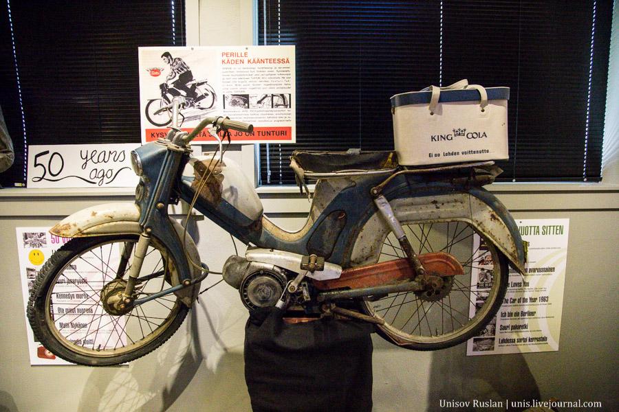 Музей мотоциклов в Финляндии
