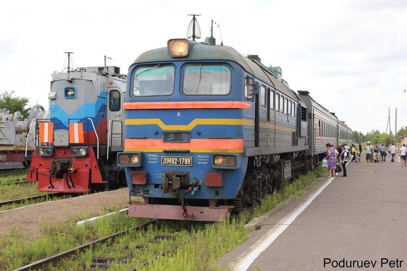 ДМ62-1789 на станции Калязин