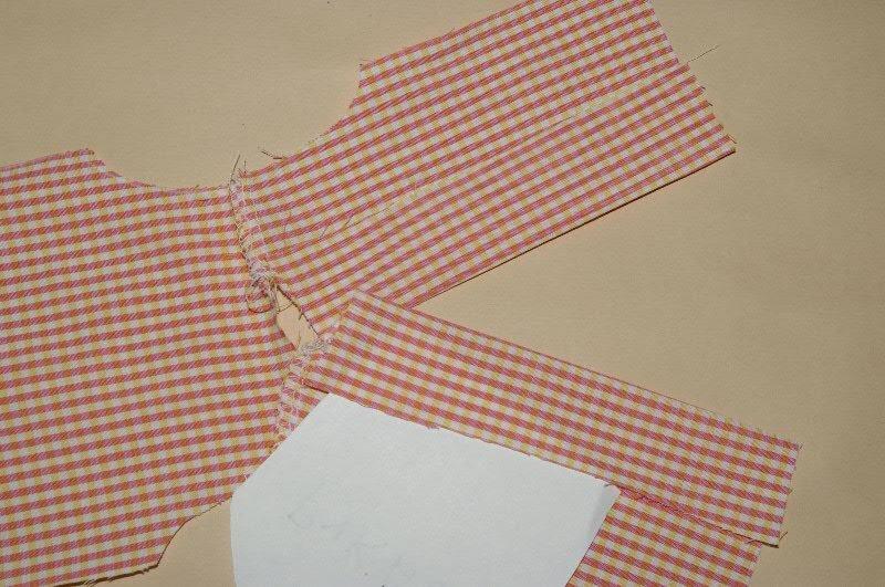 Рубашка для кукол своими рукам