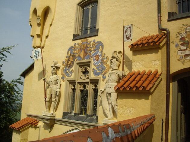 Замок Хоэншвангау. Германия