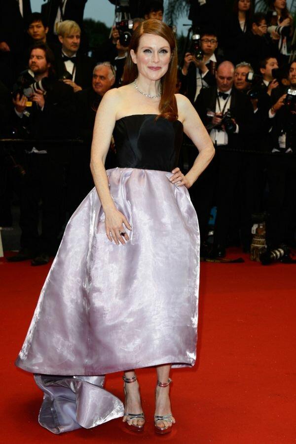 Ноги Джулианны Мур на кинофестивале в Каннах