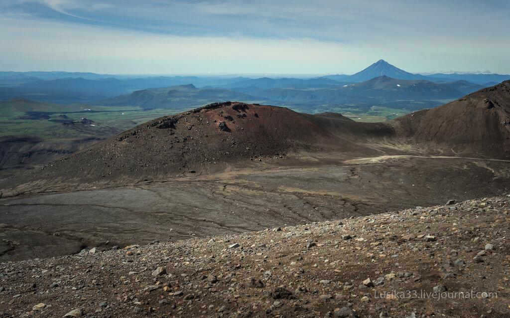 Вулкан Горелый, Камчатка