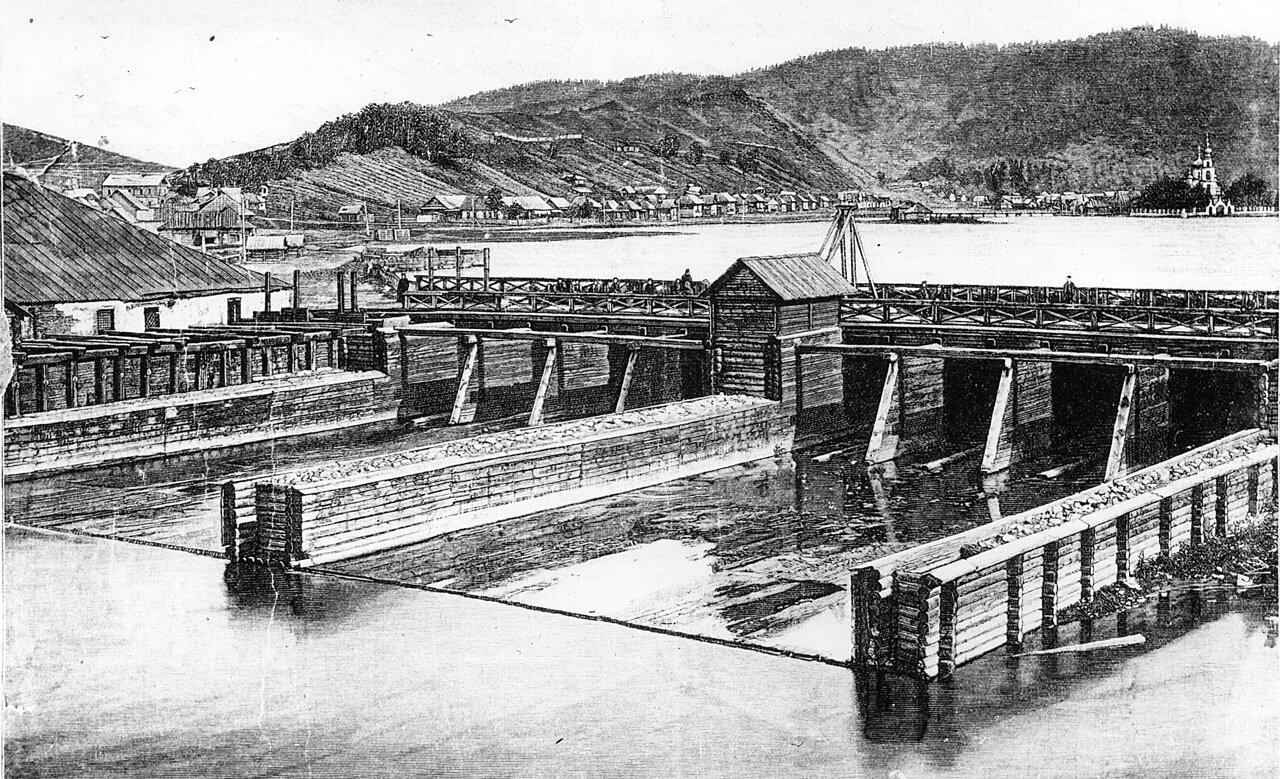 1899. Плотина нижн пруда