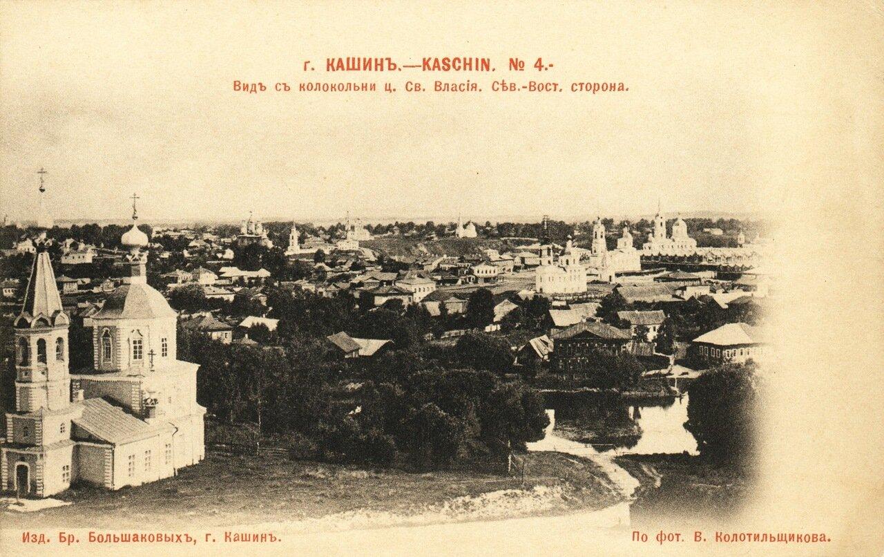 Вид с колокольни ц. Св.Власия. Сев-Восточная сторона