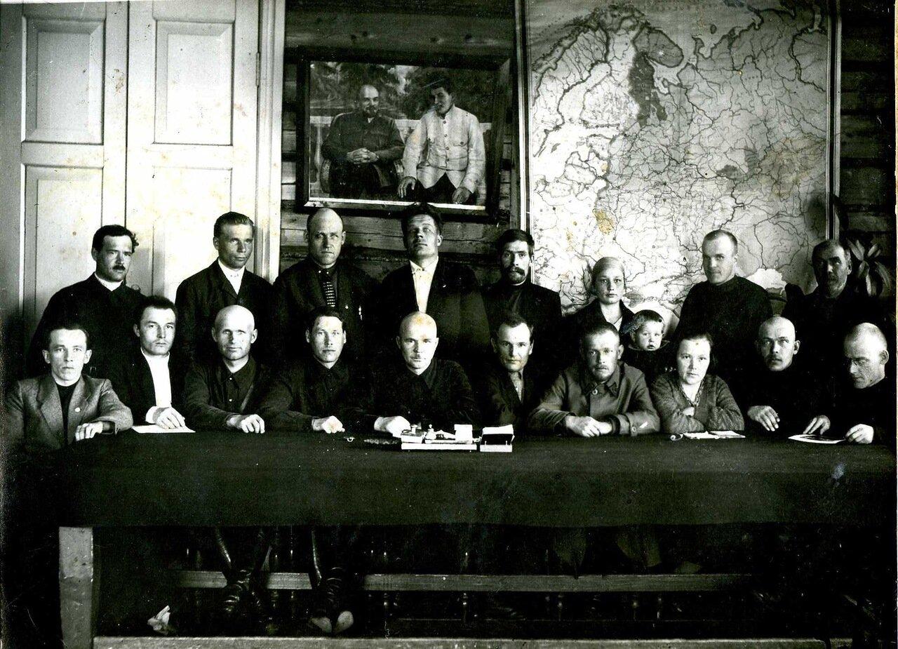 1929. Апрель. Омутнинский уисполком.