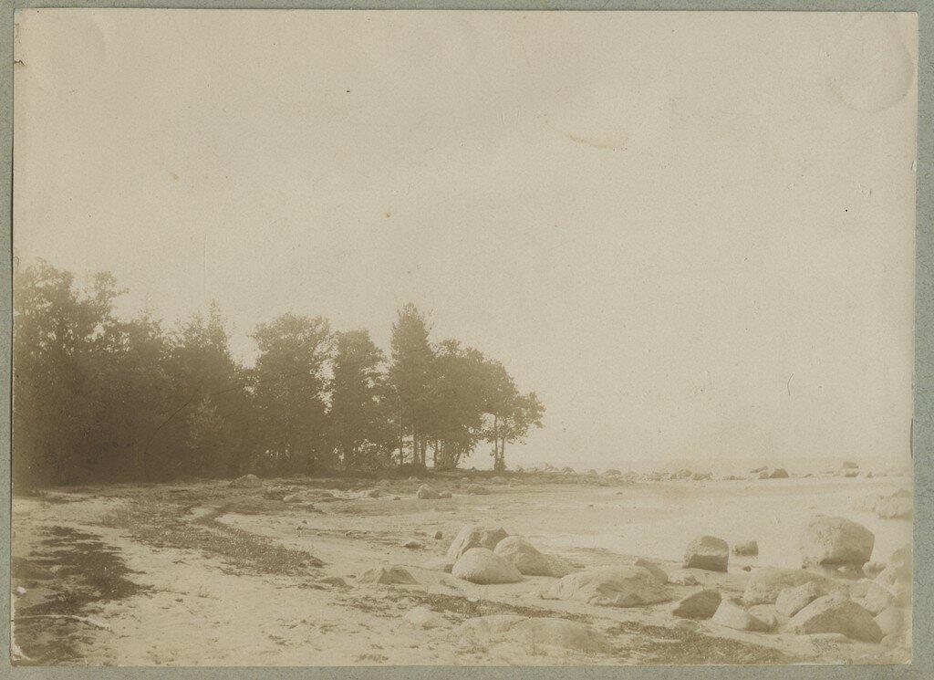 1900. Каменистый берег