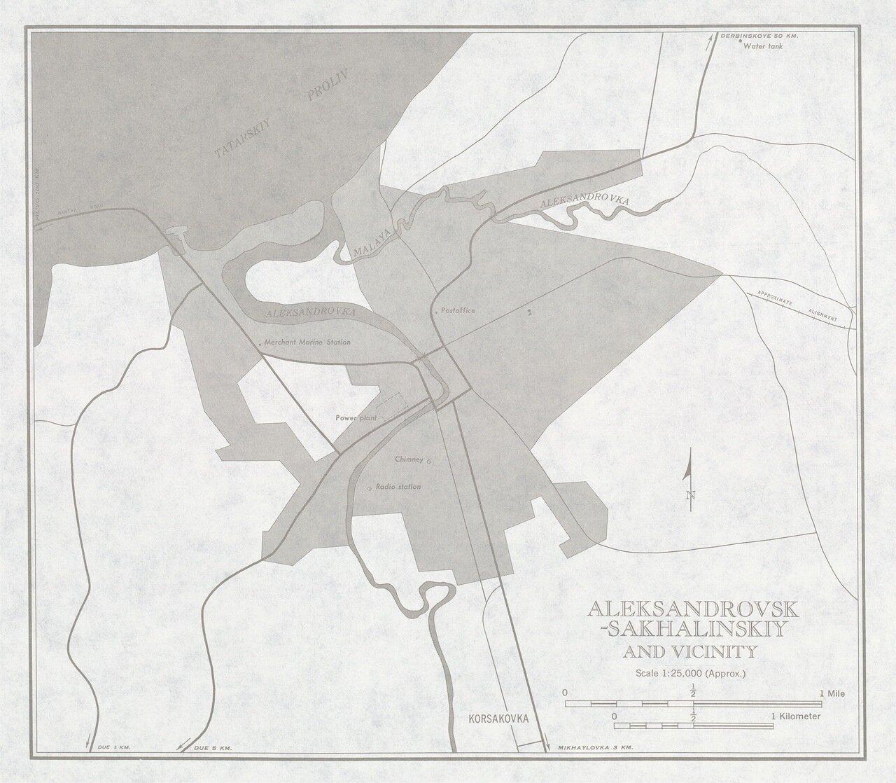 Александровск-Сахалинский и окрестности