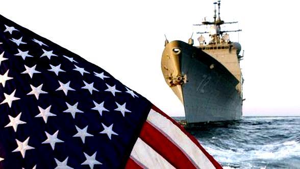 Американский ракетный крейсер Vella Gulf зашел в Черное море.