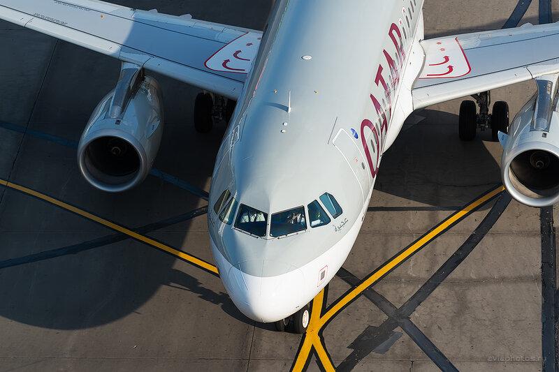 Airbus A320-232 (A7-AHR) Qatar D804692
