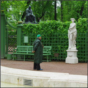 Санкт-Петербург. Летний сад. 23 мая 2013.