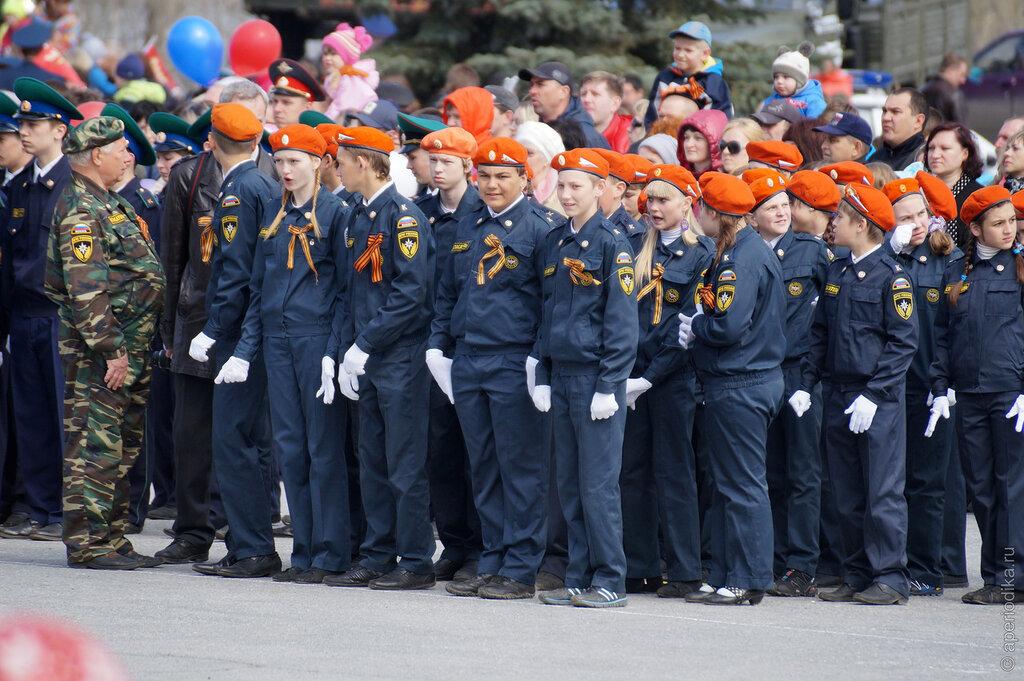 День Победы в Златоусте. Военный парад