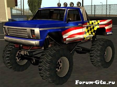 GTA San Andreas Monster