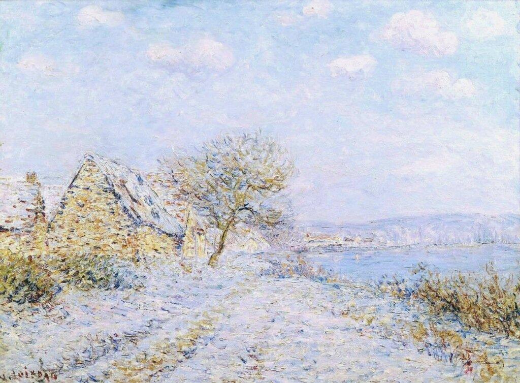 Tournedos-sur-Seine, Snow, Frost, Sun, 1899-1900.jpg