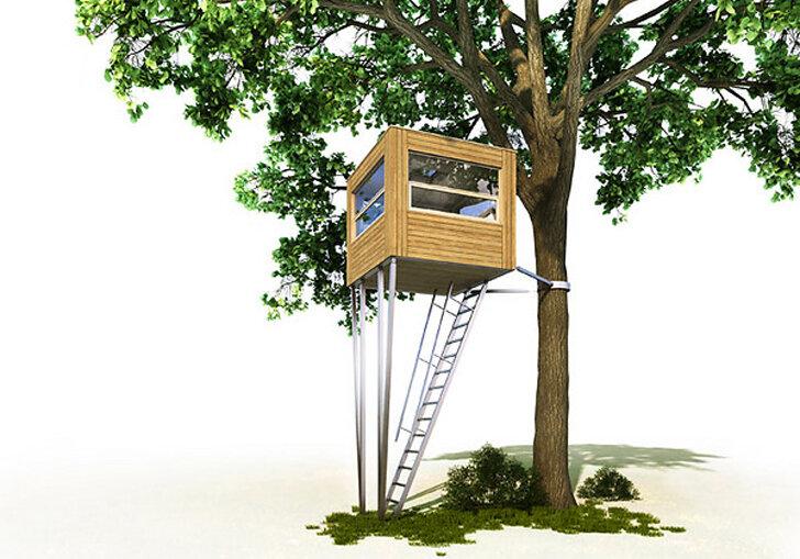 Домик на дереве для развлечений