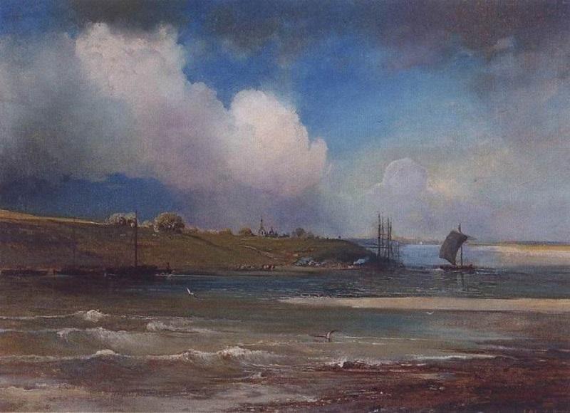 Вид Волги под Юрьевцем. 1870-е.jpg