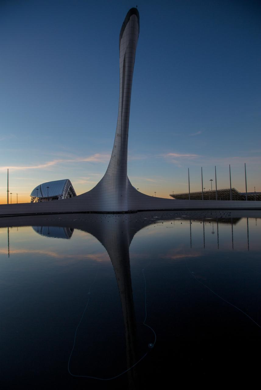 Сочи. Олимпийские объекты пару лет спустя