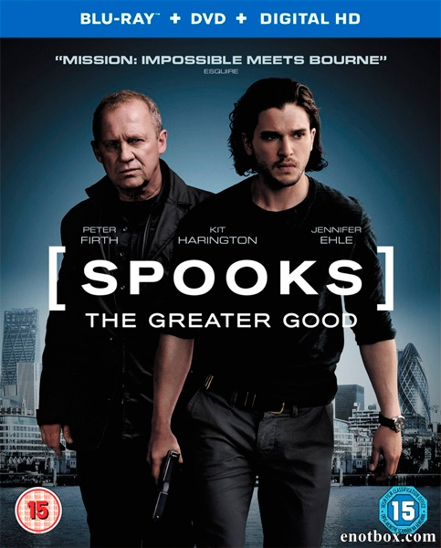 Призраки: Лучшая участь / Spooks: The Greater Good (2015/BDRip/HDRip)